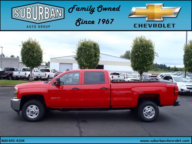 2016 Silverado 2500 Crew Cab 4x4, Pickup #T160680 - photo 5