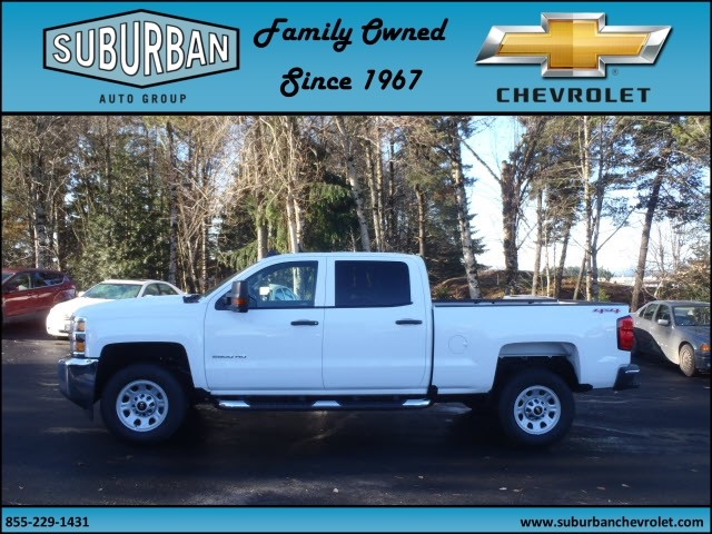2016 Silverado 2500 Crew Cab 4x4, Pickup #T160818 - photo 3