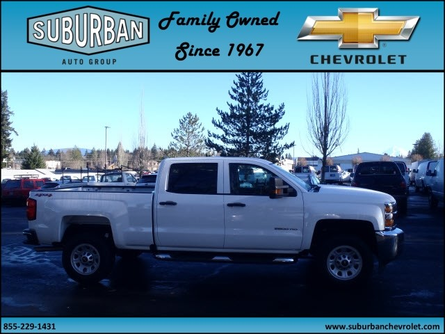 2016 Silverado 2500 Crew Cab 4x4, Pickup #T160818 - photo 5