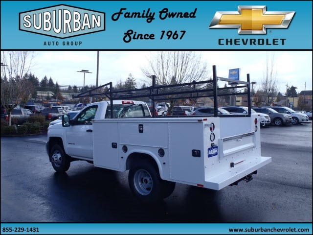 2016 Silverado 3500 Regular Cab 4x4, Knapheide Service Body #T160985 - photo 2