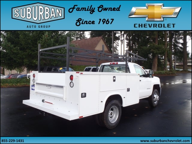 2016 Silverado 3500 Regular Cab 4x4, Knapheide Service Body #T160985 - photo 4