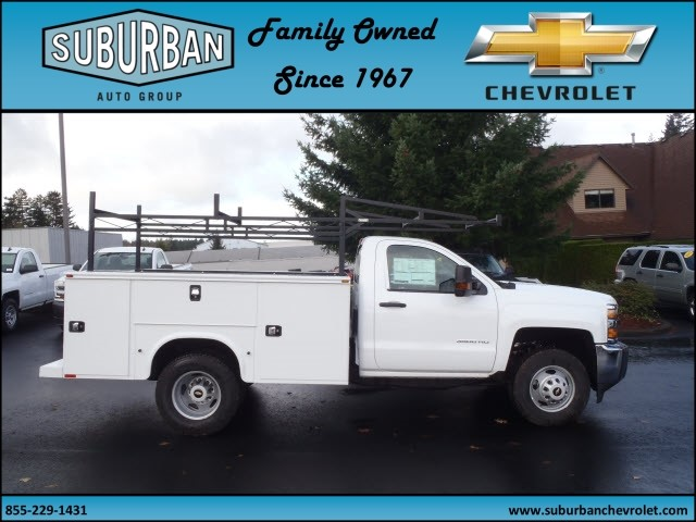 2016 Silverado 3500 Regular Cab 4x4, Knapheide Service Body #T160985 - photo 5