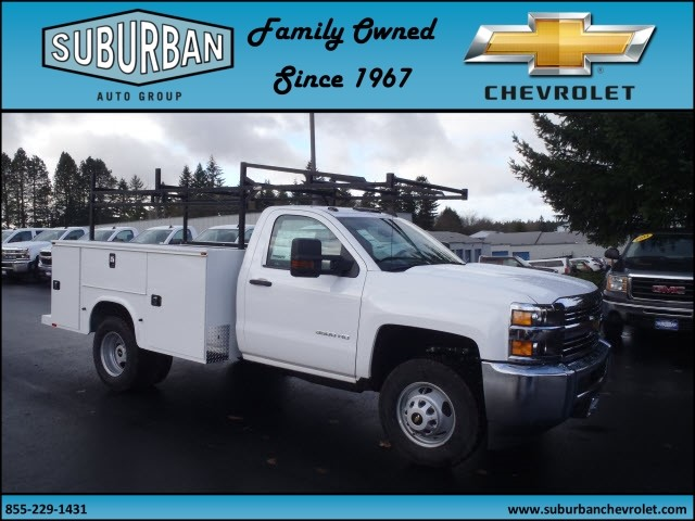 2016 Silverado 3500 Regular Cab 4x4, Knapheide Service Body #T160985 - photo 6