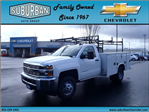 2016 Silverado 3500 Regular Cab 4x4, Knapheide Service Body #T160985 - photo 1