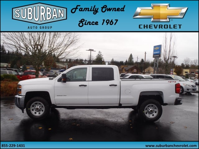 2016 Silverado 2500 Crew Cab 4x4, Pickup #T161045 - photo 3