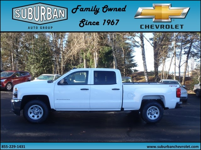 2017 Silverado 1500 Crew Cab 4x4, Pickup #T170197 - photo 3