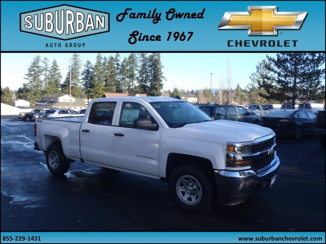 2017 Silverado 1500 Crew Cab 4x4, Pickup #T170197 - photo 6