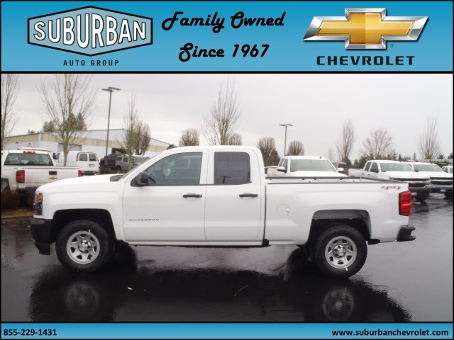 2017 Silverado 1500 Double Cab 4x4, Pickup #T170211 - photo 3