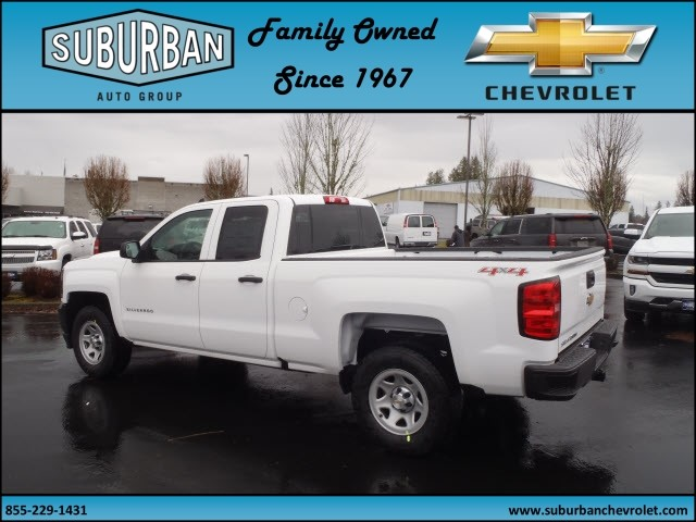2017 Silverado 1500 Double Cab 4x4, Pickup #T170211 - photo 2