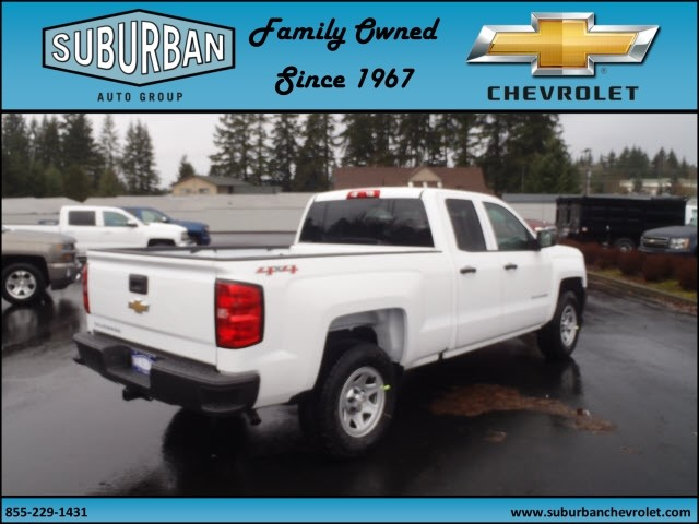 2017 Silverado 1500 Double Cab 4x4, Pickup #T170211 - photo 4