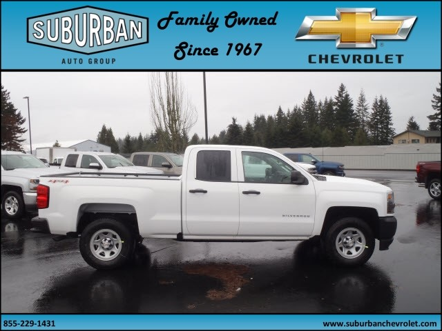 2017 Silverado 1500 Double Cab 4x4, Pickup #T170211 - photo 5