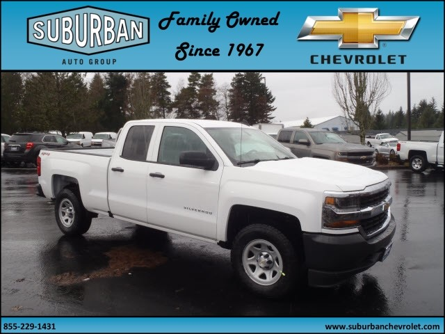 2017 Silverado 1500 Double Cab 4x4, Pickup #T170211 - photo 6