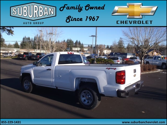 2017 Silverado 1500 Regular Cab 4x4, Pickup #T170220 - photo 2