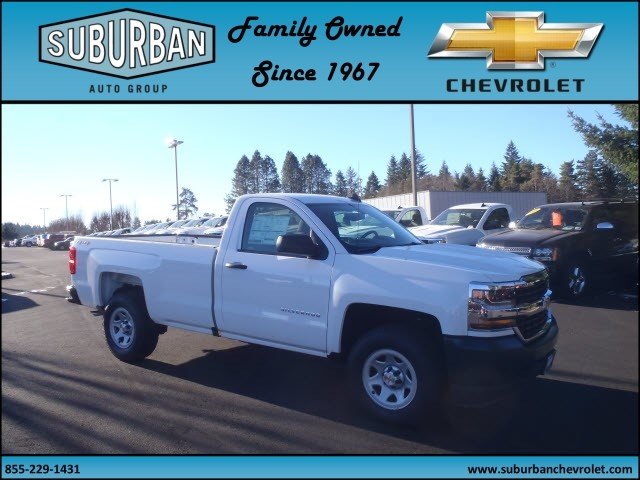 2017 Silverado 1500 Regular Cab 4x4, Pickup #T170220 - photo 6