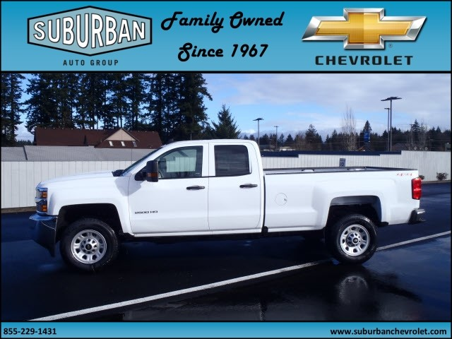 2017 Silverado 2500 Double Cab 4x4, Pickup #T170232 - photo 3