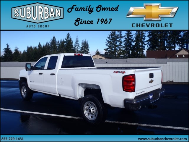 2017 Silverado 2500 Double Cab 4x4, Pickup #T170232 - photo 2