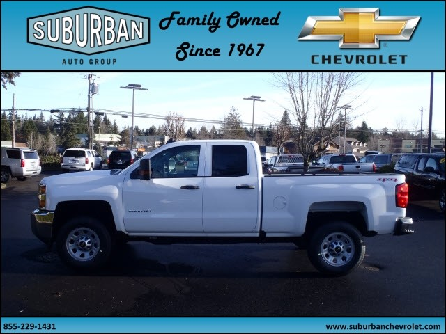 2017 Silverado 2500 Double Cab 4x4, Pickup #T170253 - photo 3