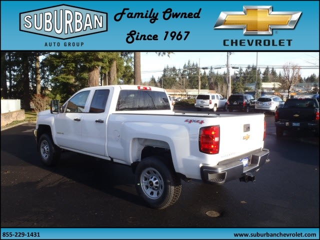 2017 Silverado 2500 Double Cab 4x4, Pickup #T170253 - photo 2