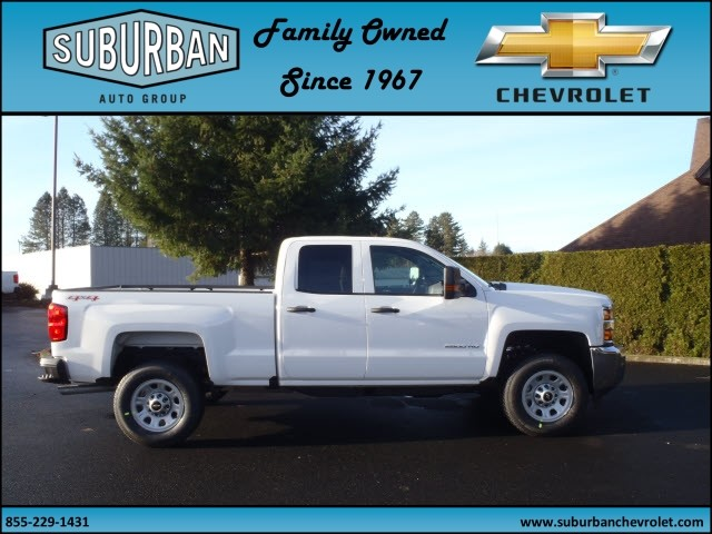 2017 Silverado 2500 Double Cab 4x4, Pickup #T170253 - photo 5