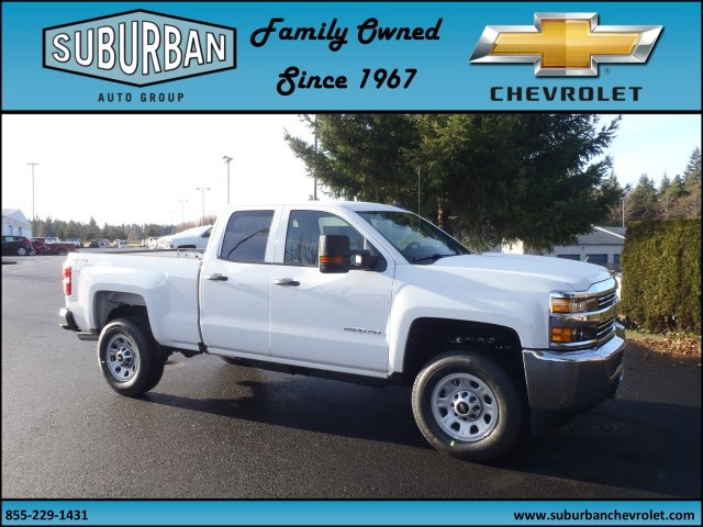 2017 Silverado 2500 Double Cab 4x4, Pickup #T170253 - photo 6