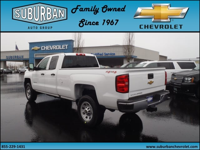 2017 Silverado 2500 Double Cab 4x4, Pickup #T170257 - photo 2