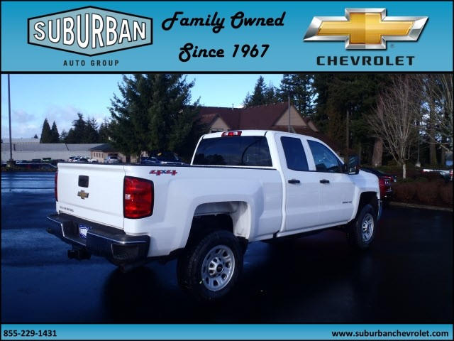 2017 Silverado 2500 Double Cab 4x4, Pickup #T170258 - photo 4