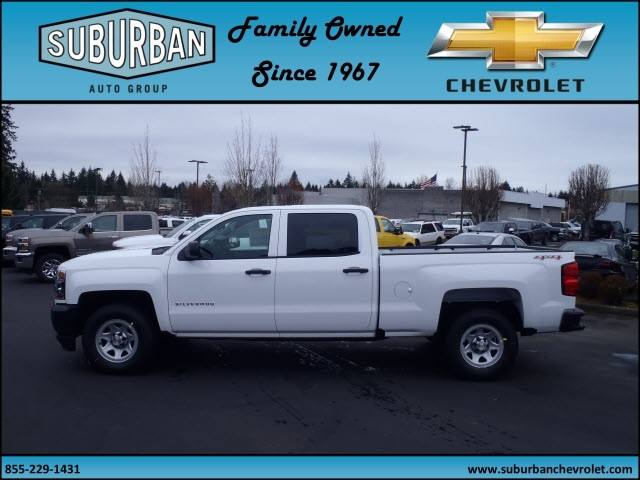 2017 Silverado 1500 Crew Cab 4x4, Pickup #T170277 - photo 3