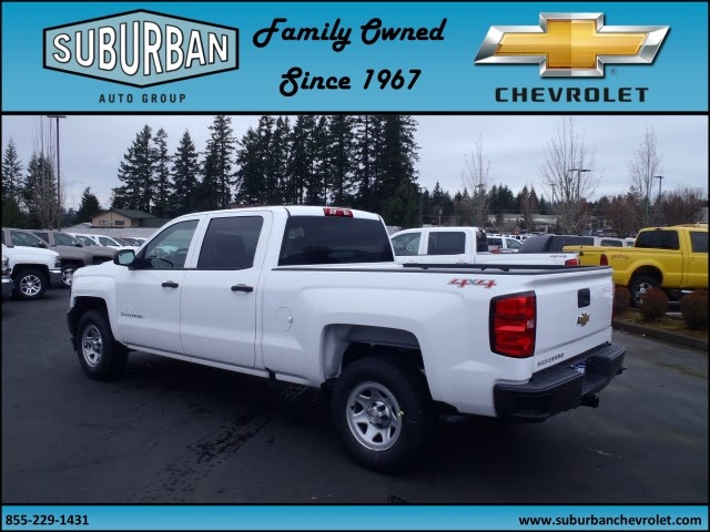 2017 Silverado 1500 Crew Cab 4x4, Pickup #T170277 - photo 2