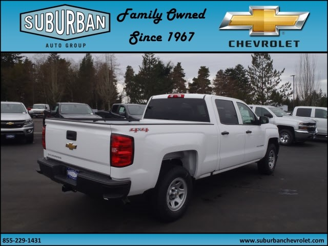 2017 Silverado 1500 Crew Cab 4x4, Pickup #T170277 - photo 4