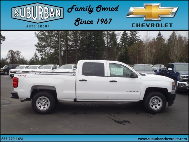 2017 Silverado 1500 Crew Cab 4x4, Pickup #T170277 - photo 5