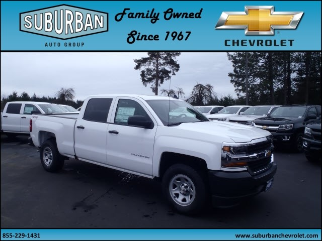 2017 Silverado 1500 Crew Cab 4x4, Pickup #T170277 - photo 6