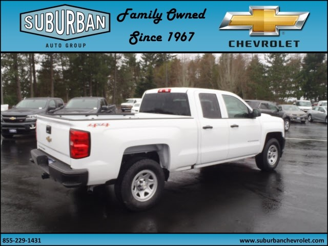 2017 Silverado 1500 Double Cab 4x4, Pickup #T170279 - photo 4