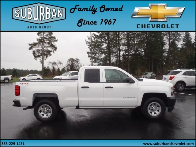 2017 Silverado 1500 Double Cab 4x4, Pickup #T170279 - photo 5