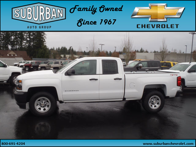 2017 Silverado 1500 Double Cab 4x4, Pickup #T170279 - photo 3