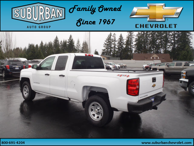 2017 Silverado 1500 Double Cab 4x4, Pickup #T170279 - photo 2