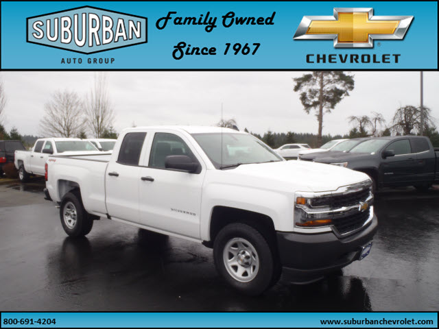 2017 Silverado 1500 Double Cab 4x4, Pickup #T170279 - photo 6