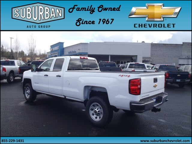 2017 Silverado 2500 Double Cab 4x4, Pickup #T170285 - photo 2