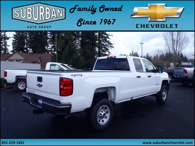 2017 Silverado 2500 Double Cab 4x4, Pickup #T170285 - photo 4