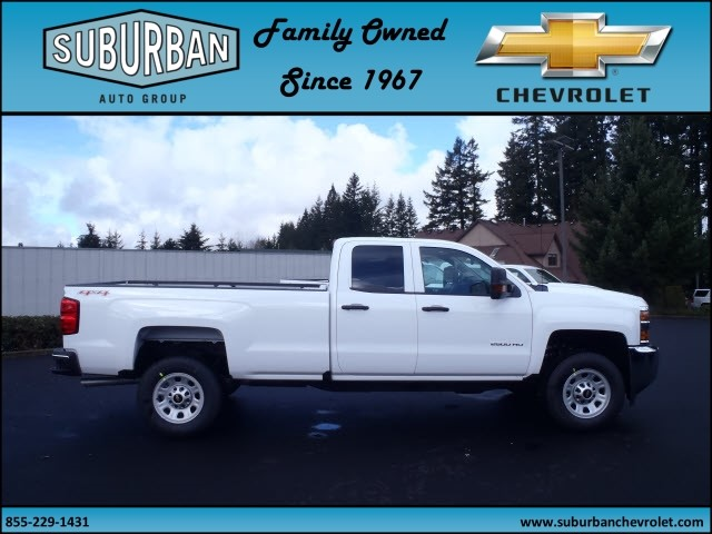 2017 Silverado 2500 Double Cab 4x4, Pickup #T170285 - photo 5