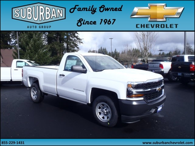 2017 Silverado 1500 Regular Cab, Pickup #T170286 - photo 6