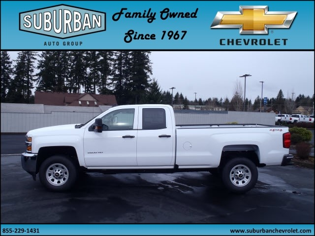 2017 Silverado 2500 Double Cab 4x4, Pickup #T170298 - photo 3
