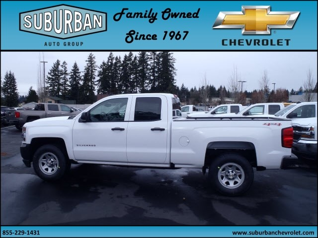 2017 Silverado 1500 Double Cab 4x4, Pickup #T170330 - photo 3