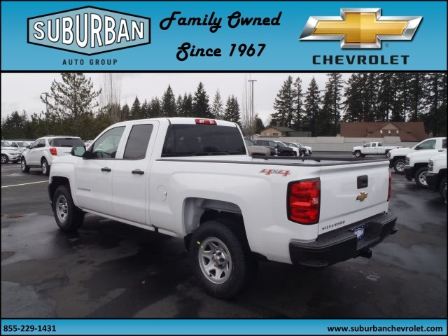2017 Silverado 1500 Double Cab 4x4, Pickup #T170330 - photo 2