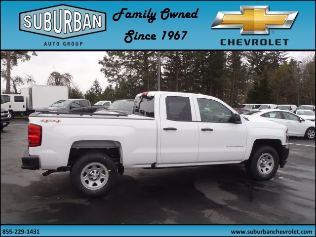 2017 Silverado 1500 Double Cab 4x4, Pickup #T170330 - photo 4