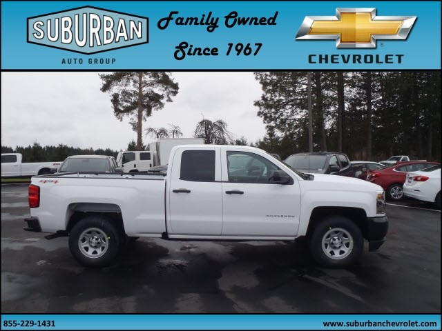 2017 Silverado 1500 Double Cab 4x4, Pickup #T170330 - photo 5