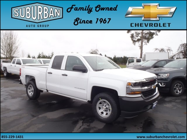 2017 Silverado 1500 Double Cab 4x4, Pickup #T170330 - photo 6
