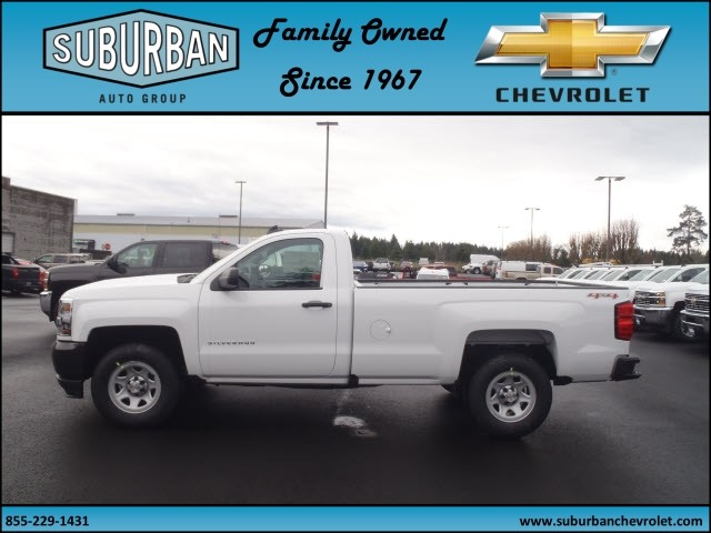 2017 Silverado 1500 Regular Cab 4x4, Pickup #T170333 - photo 3