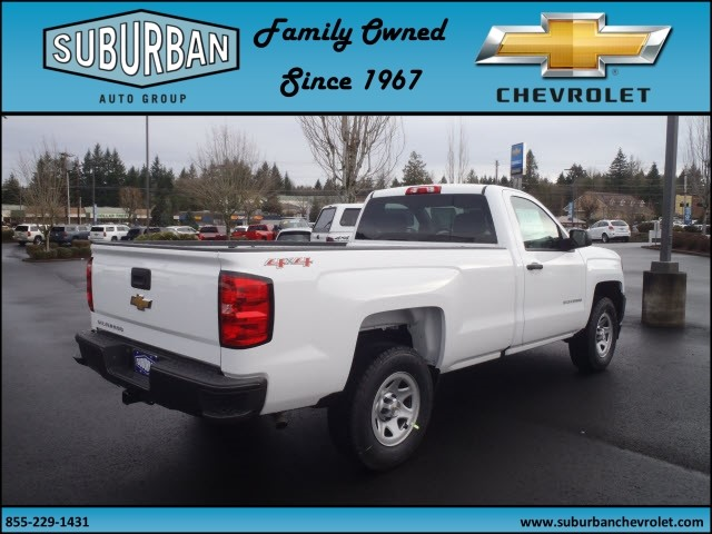 2017 Silverado 1500 Regular Cab 4x4, Pickup #T170333 - photo 4