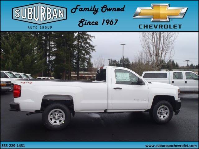 2017 Silverado 1500 Regular Cab 4x4, Pickup #T170333 - photo 5