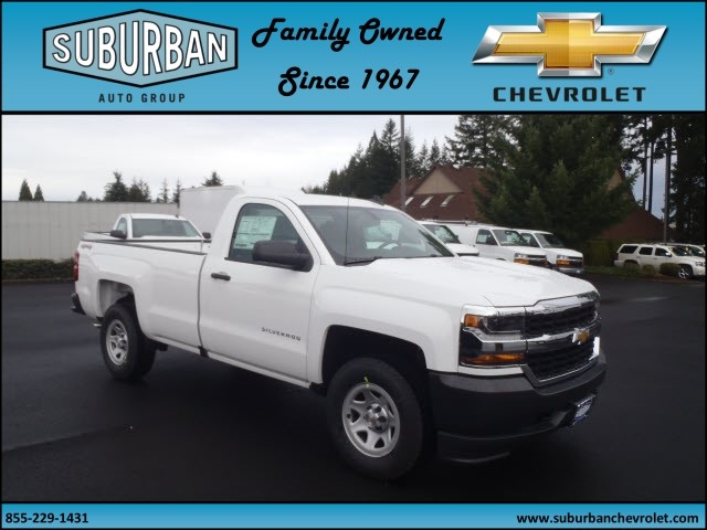 2017 Silverado 1500 Regular Cab 4x4, Pickup #T170333 - photo 6
